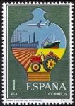Sellos de Europa - España -  2329 Servicio de Correos. Caja Postal de Ahorros.