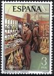 Sellos de Europa - España -  2330 Servicio de Correos. Ambulante de Correos.