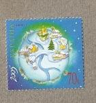 Sellos de Europa - Ucrania -  Navidad 2005