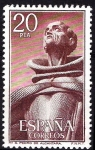 Sellos de Europa - España -  2377 Monasterio e San Pedro de Alcántara. San Pedro.