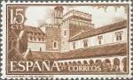 Stamps Spain -  MONASTERIO DE NUESTRA SEÑORA DE GUADALUPE