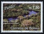 Sellos del Mundo : America : Bolivia : Lugares Turisticos - Pando