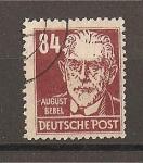 Sellos de Europa - Alemania -  August Bebel.