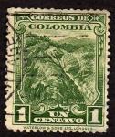 Stamps America - Colombia -  Minas de esmeraldas