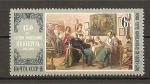 Sellos de Europa - Rusia -  Aniversario del pintor K.Flavitsky.