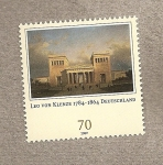 Stamps Germany -  Leo von Klenze