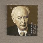 Sellos de Europa - Alemania -  Theodor Heuss, expresidente