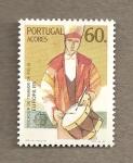 Stamps Portugal -  Azores, Tamborilero