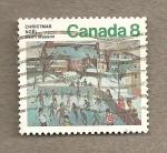 Sellos de America - Canadá -  Navidad 1974