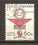 Stamps Czechoslovakia -  Congreso Sindical.