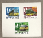 Stamps Switzerland -  Autobuses
