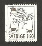 Stamps Sweden -  navidad