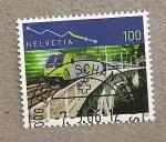 Sellos de Europa - Suiza -  Tren
