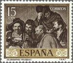 Stamps Spain -  DIEGO VELAZQUEZ.