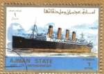 Stamps Asia - United Arab Emirates -  AJMAN - Barco
