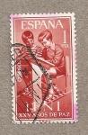 Stamps Spain -  Ifni:XXV Años de Paz