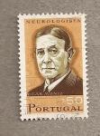 Sellos del Mundo : Europa : Portugal : Egas Moniz, neurólogo