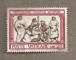 Sellos de Europa - Vaticano -  Dando de comer a los hambrientos