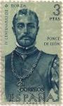 Sellos del Mundo : Europa : España : 1304, Ponce de leon