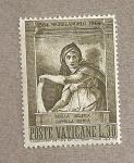 Stamps Vatican City -  Sibila Delphie por Miguel Angel