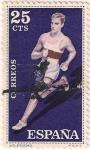 Sellos del Mundo : Europa : España : 1306, Atletismo