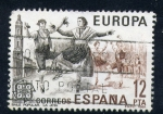Stamps Spain -  europa cept