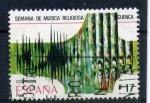 Sellos de Europa - España -  Semana de música religiosa- Cuenca