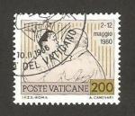 Stamps : Europe : Vatican_City :  719 - Viaje de Juan Pablo II, reencuentro con el episcopado