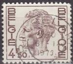 Stamps Belgium -  Belgica 1974 Scott 754 Sello Rey Balduino 4,50Fr usado