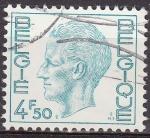 Stamps Belgium -  Belgica 1974 Scott 755 Sello Rey Balduino 4,50Fr usado