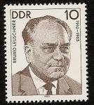 Stamps Germany -  Bruno Leuschner