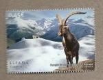 Stamps Spain -  Parque Nacional de Sierra Nevada