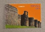 Stamps Spain -  Murallas de Lugo