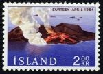Sellos de Europa - Islandia -  ISLANDIA - Surtsey