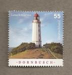 Sellos de Europa - Alemania -  Faro de Dornbussch