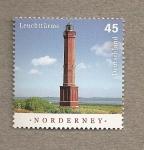 Stamps Germany -  Faro de Norderney