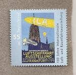 Sellos de Europa - Alemania -  100 Aniv. de la exposición sobre el espacio