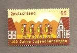 Stamps Germany -  100 Aniv de los alberges para jóvenes