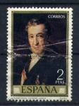 Sellos de Europa - España -  Autorretrato-V. Lopez