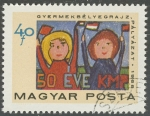Stamps : Europe : Hungary :  50 EVE KMP