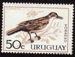 Sellos del Mundo : America : Uruguay :  El hornero