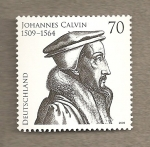Stamps Germany -  Joannes Calvin, reformador religioso