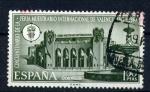 Stamps Spain -  Cincuentenario feria muestrario Intern. de Valencia