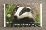 Stamps Germany -  Tejón, animal del año