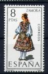 Sellos de Europa - España -  serie- Trajes regionales