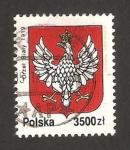 Sellos de Europa - Polonia -  escudo de armas año 1919