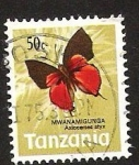 Stamps Africa - Tanzania -  mwanamigunga axiocerses styx
