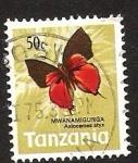 Sellos del Mundo : Africa : Tanzania : mwanamigunga axiocerses styx