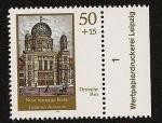Stamps Germany -  Nueva Sinagoga de Berlín