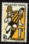 Sellos de America - Uruguay -  Club Atletico Peñarol